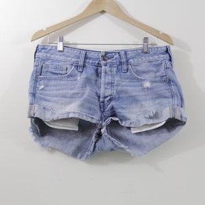 A&F distressed boyfriend shorts